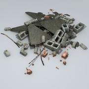 Rubble Pile 3d model