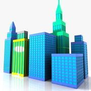 Cartoni animati 3d model