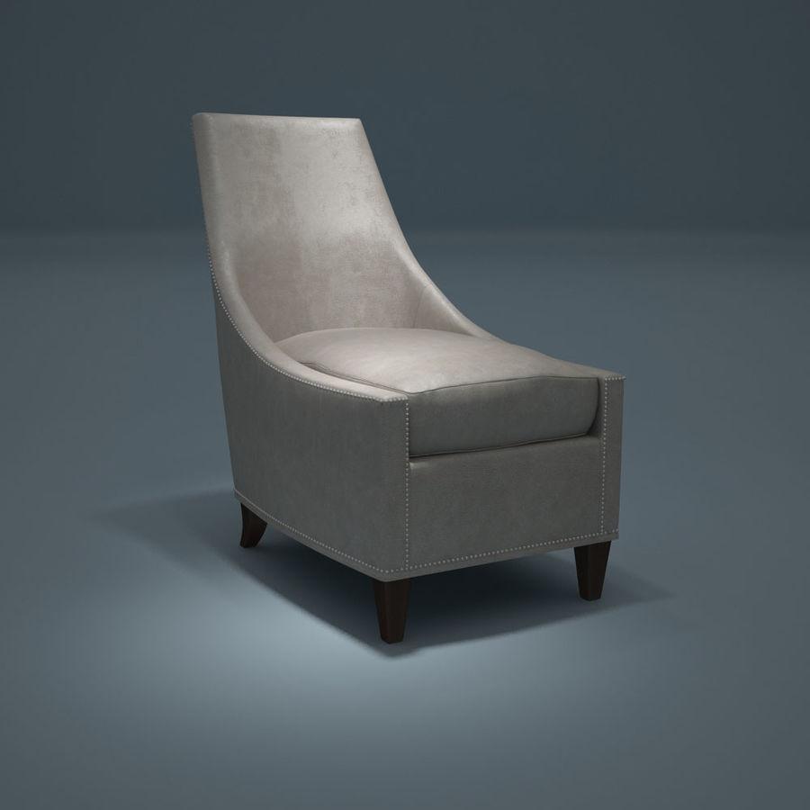 椅子-i3dbox royalty-free 3d model - Preview no. 6