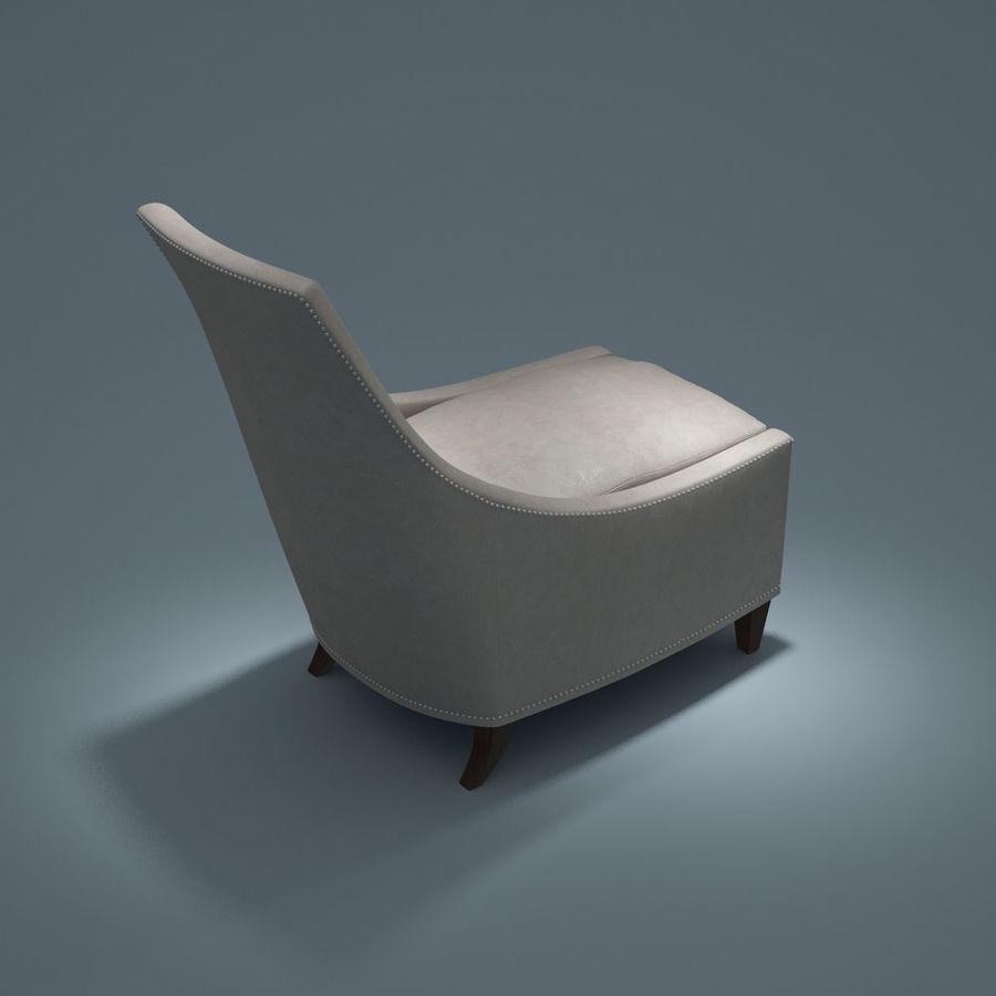 椅子-i3dbox royalty-free 3d model - Preview no. 4