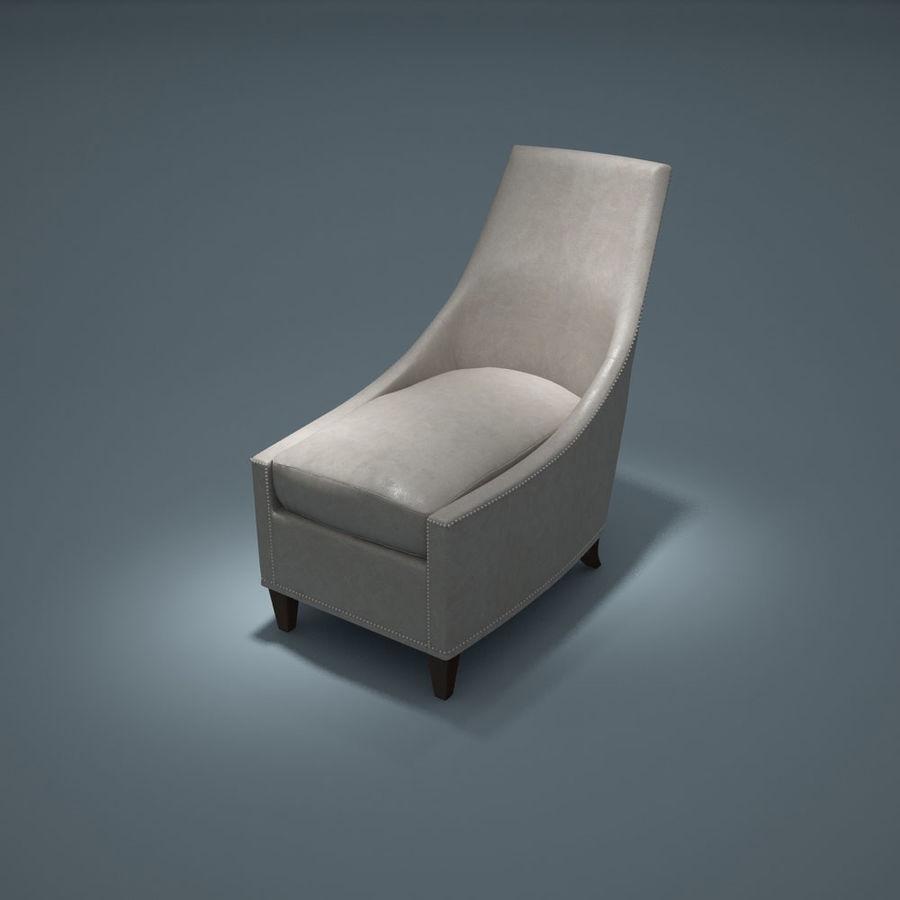 椅子-i3dbox royalty-free 3d model - Preview no. 2