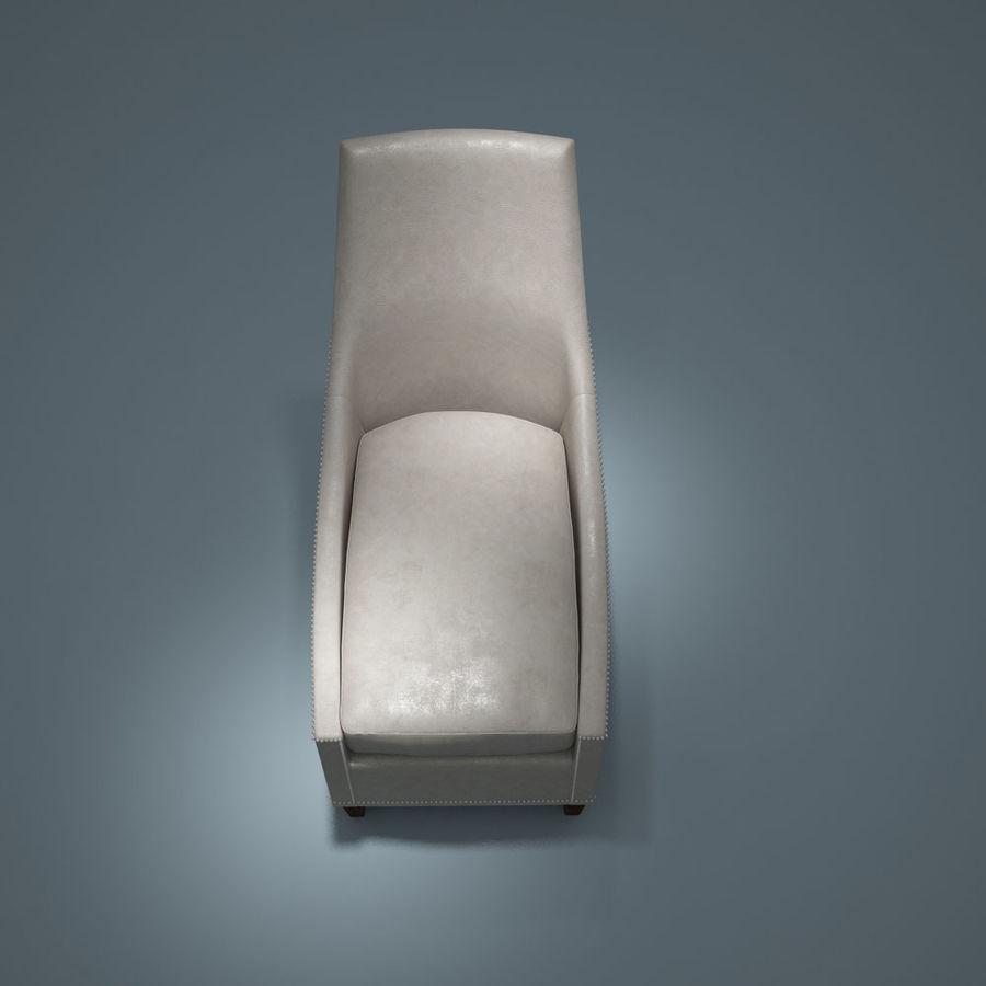 椅子-i3dbox royalty-free 3d model - Preview no. 3