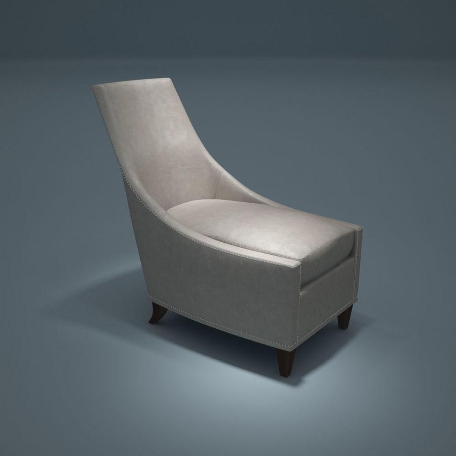 椅子-i3dbox royalty-free 3d model - Preview no. 1