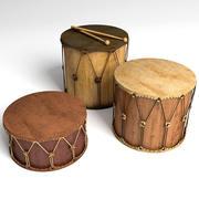 Барабаны 3d model
