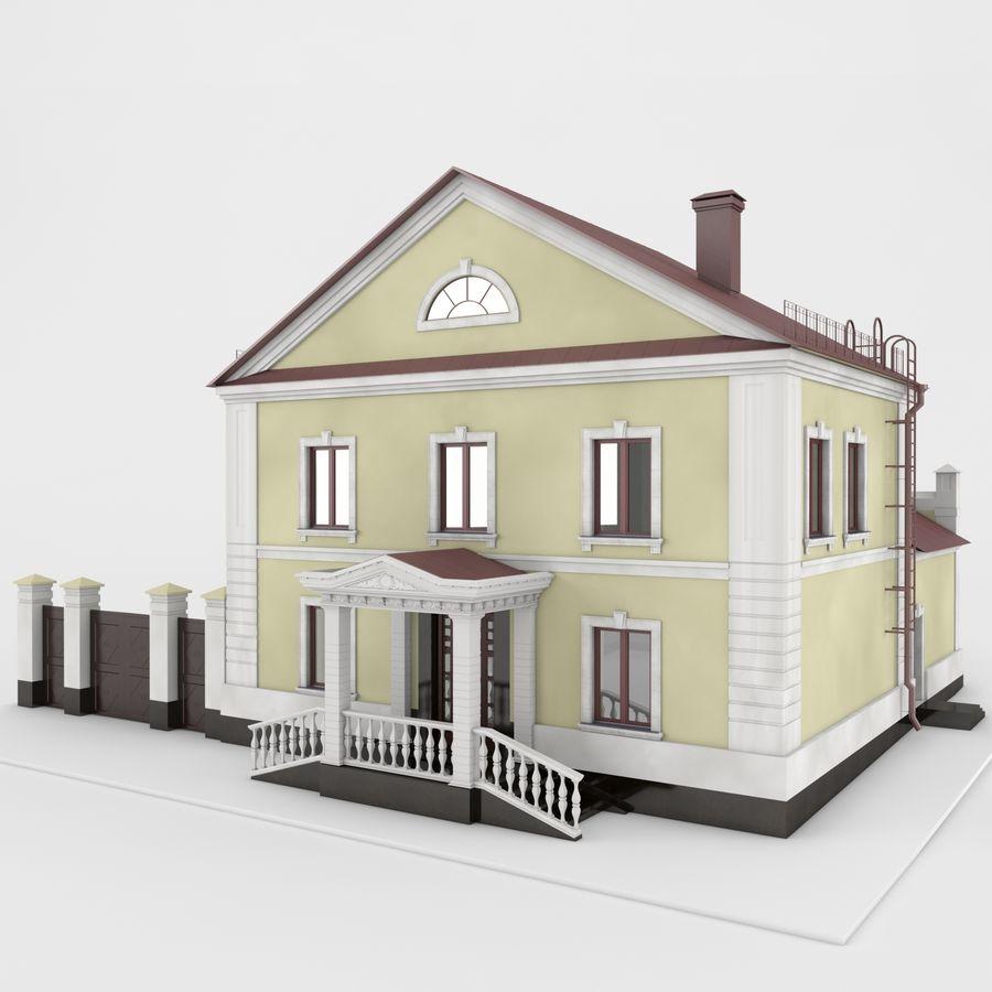 历史建筑 royalty-free 3d model - Preview no. 1