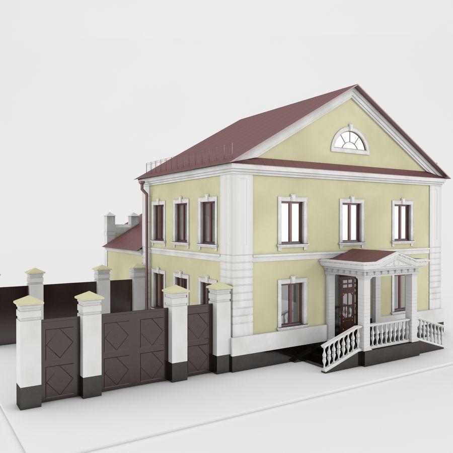 历史建筑 royalty-free 3d model - Preview no. 5