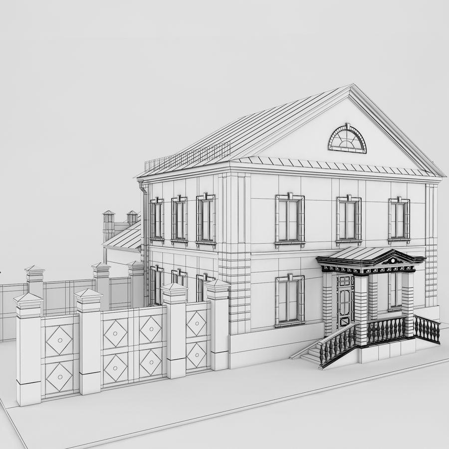 历史建筑 royalty-free 3d model - Preview no. 6