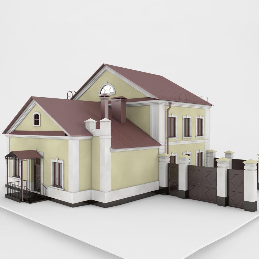 历史建筑 royalty-free 3d model - Preview no. 3