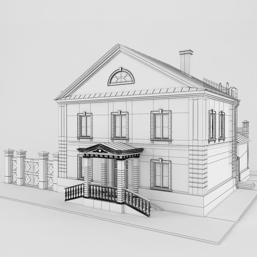 历史建筑 royalty-free 3d model - Preview no. 2