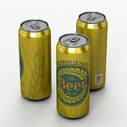 Beer can 3d model