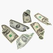 Dolars degli Stati Uniti 3d model