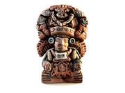 Mayan God of Maize Sculpture 3d model