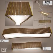 Lâmpadas Uxi por Arturo Alvarez 3d model