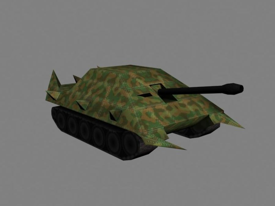 Lowpoly Scifi Military Vehicles Pack royalty-free 3d model - Preview no. 32