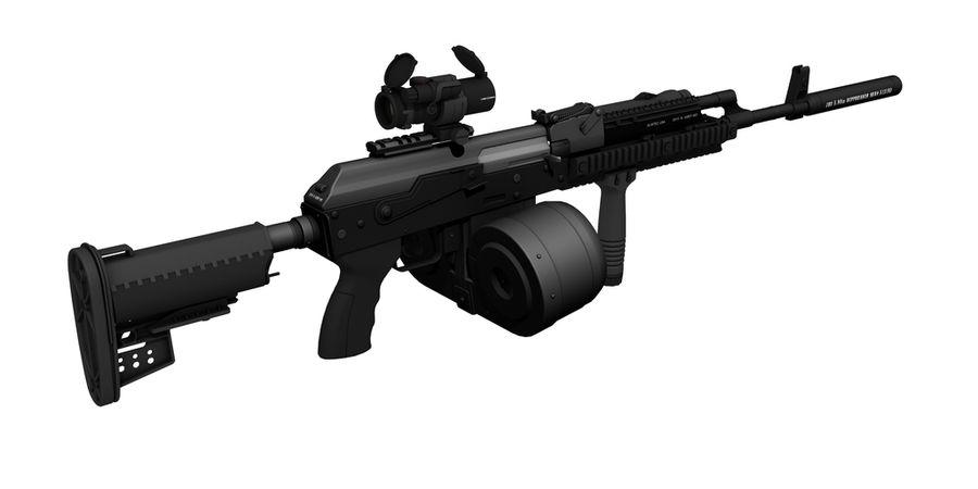 AK-47 personalizzato royalty-free 3d model - Preview no. 7