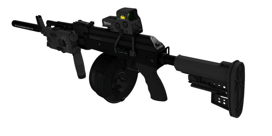 AK-47 personalizzato royalty-free 3d model - Preview no. 2