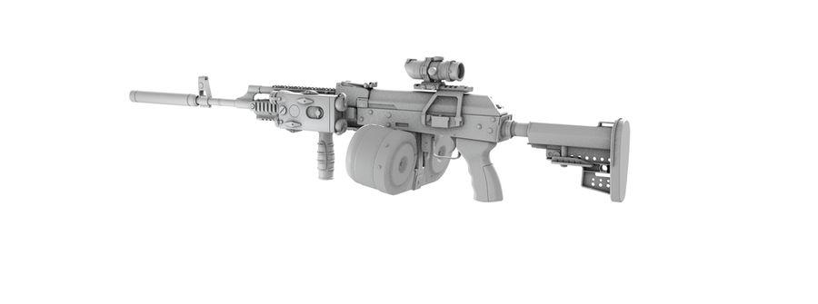 AK-47 personalizzato royalty-free 3d model - Preview no. 9