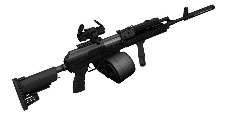 AK-47 personalizzato royalty-free 3d model - Preview no. 6