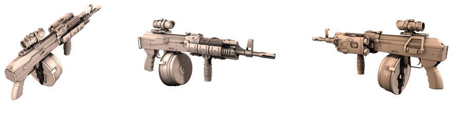 AK-47 personalizzato royalty-free 3d model - Preview no. 10