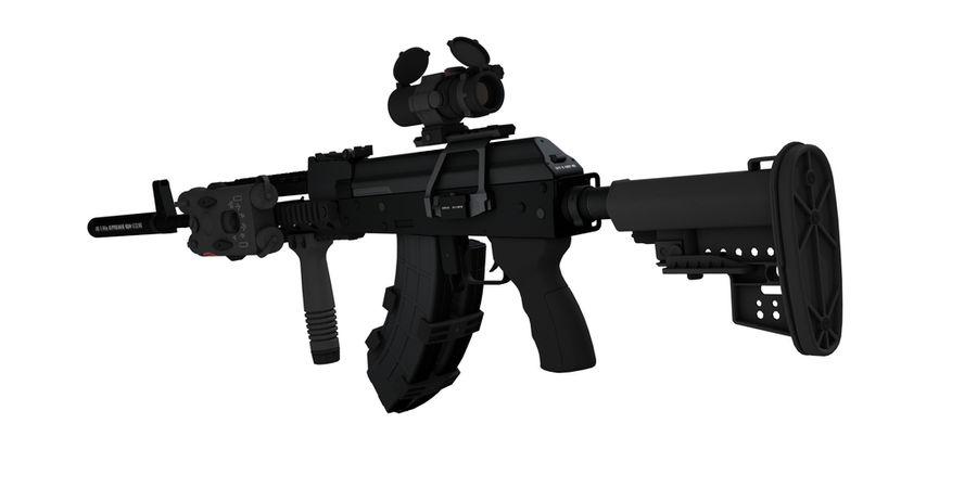 AK-47 personalizzato royalty-free 3d model - Preview no. 8