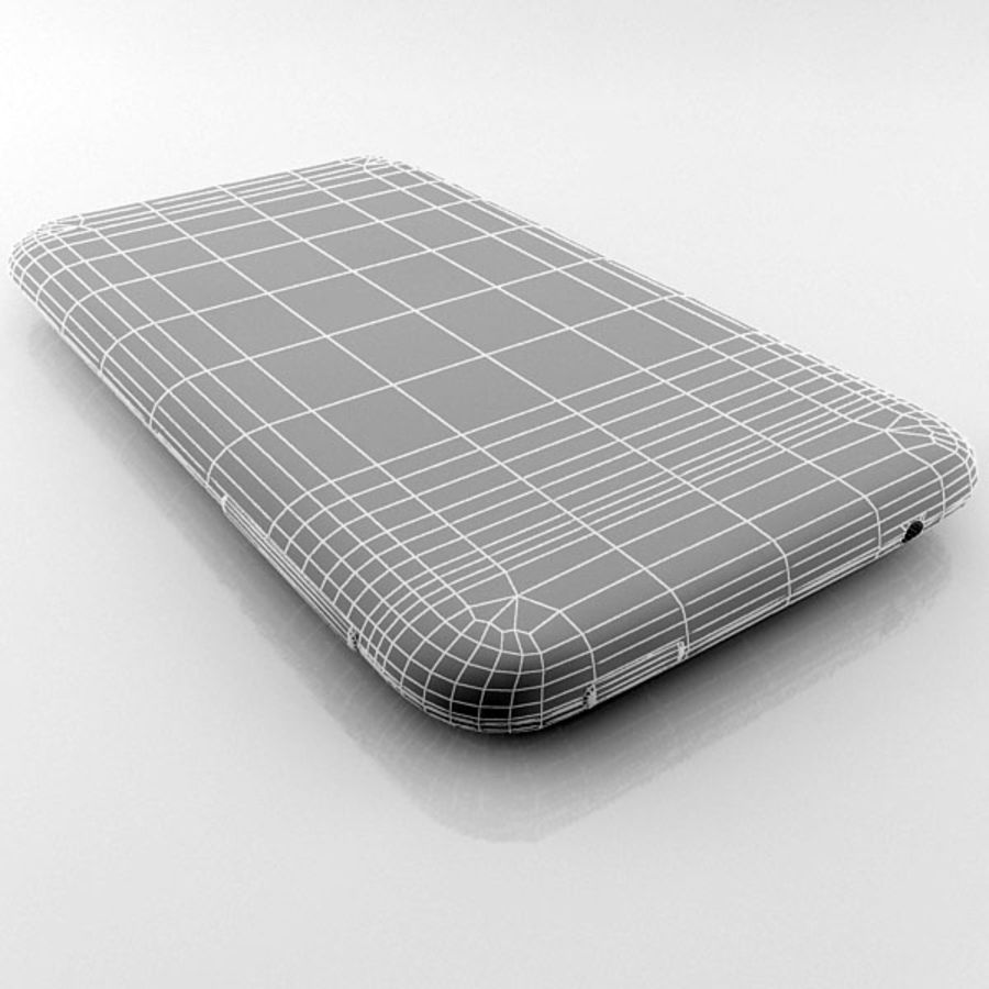 HTC Desire 200 белый и черный royalty-free 3d model - Preview no. 26