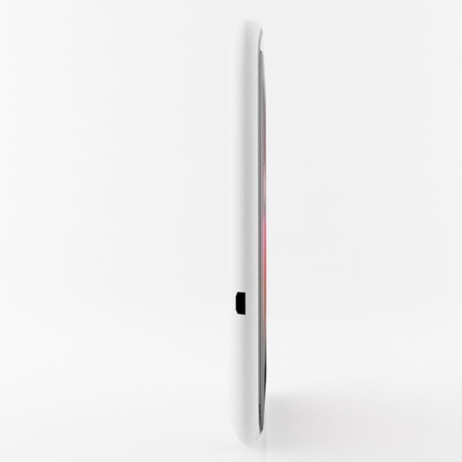 HTC Desire 200 белый и черный royalty-free 3d model - Preview no. 10