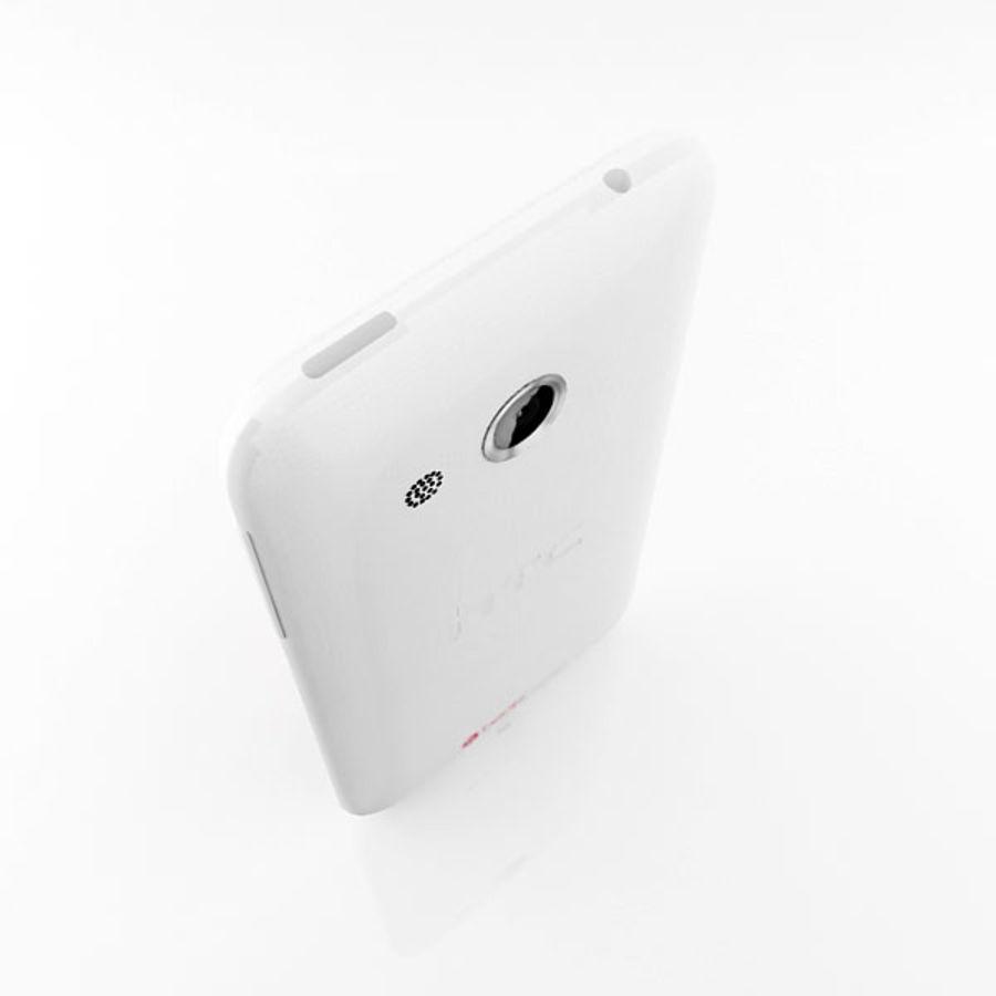 HTC Desire 200 белый и черный royalty-free 3d model - Preview no. 14
