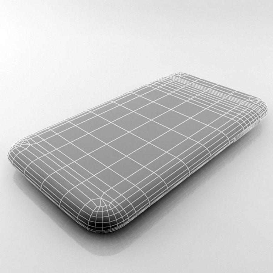 HTC Desire 200 белый и черный royalty-free 3d model - Preview no. 25