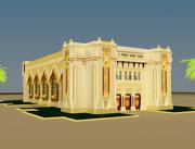 イスラム建築 3d model