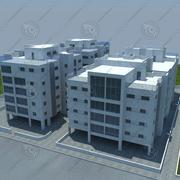 edifícios (13) 3d model
