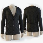 jacket_on_the_mannequin 3d model