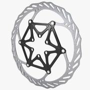 Bicycle Brake Disc 2 3d model