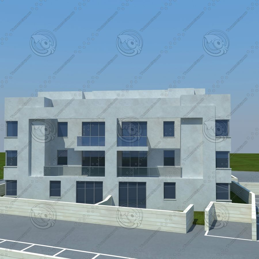 home(1) royalty-free 3d model - Preview no. 3