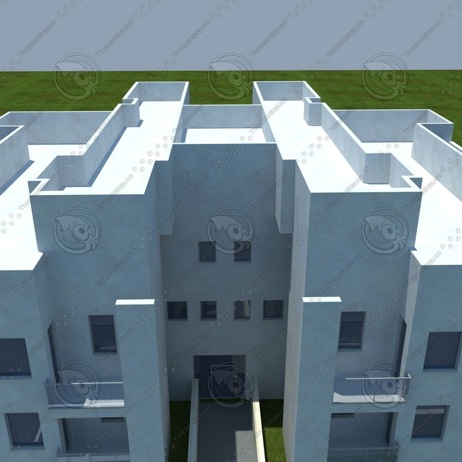 home(1) royalty-free 3d model - Preview no. 8
