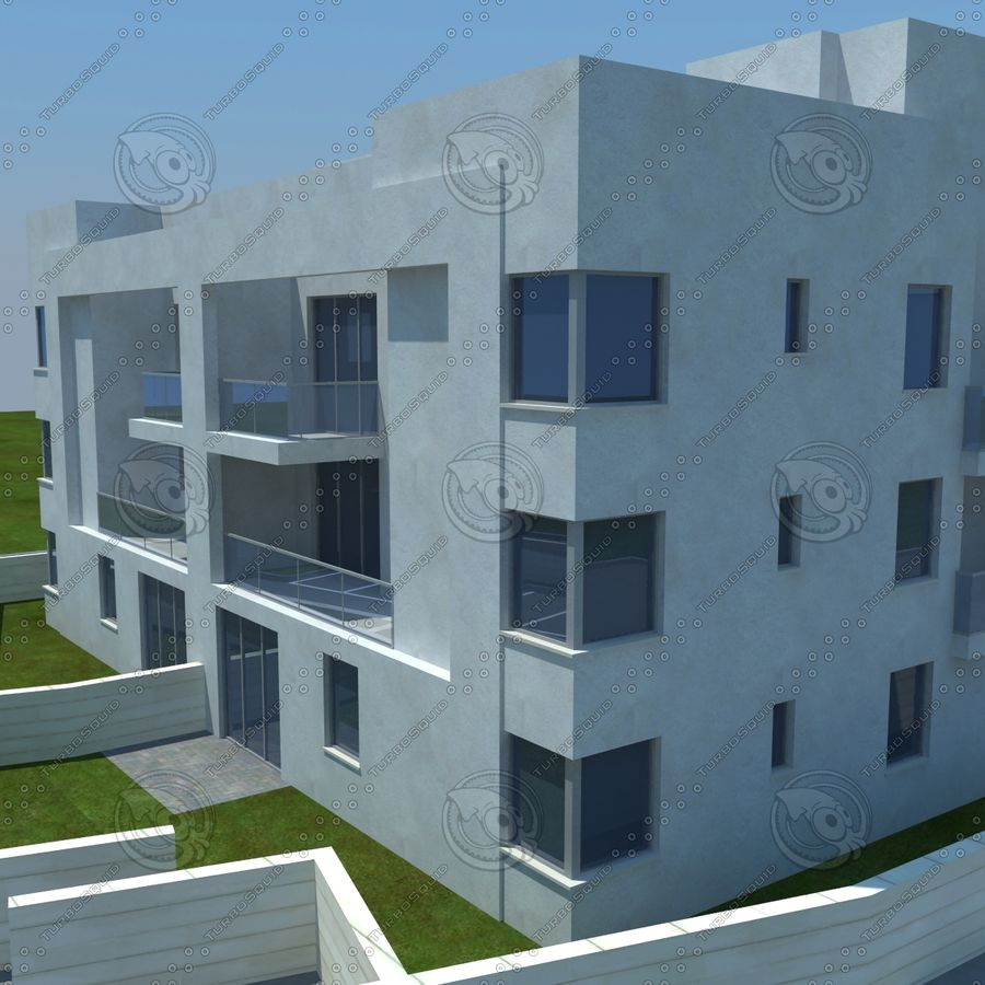 home(1) royalty-free 3d model - Preview no. 2