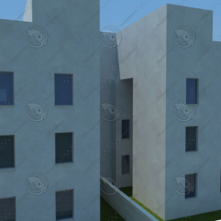 home(1) royalty-free 3d model - Preview no. 12