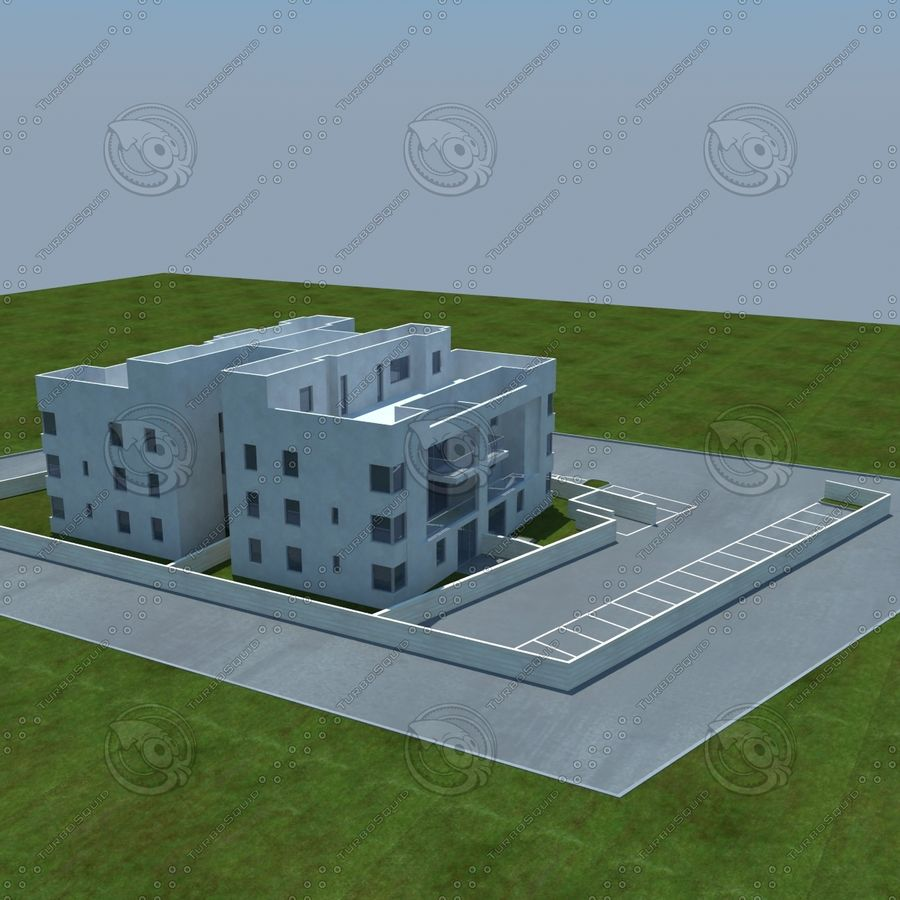 home(1) royalty-free 3d model - Preview no. 13