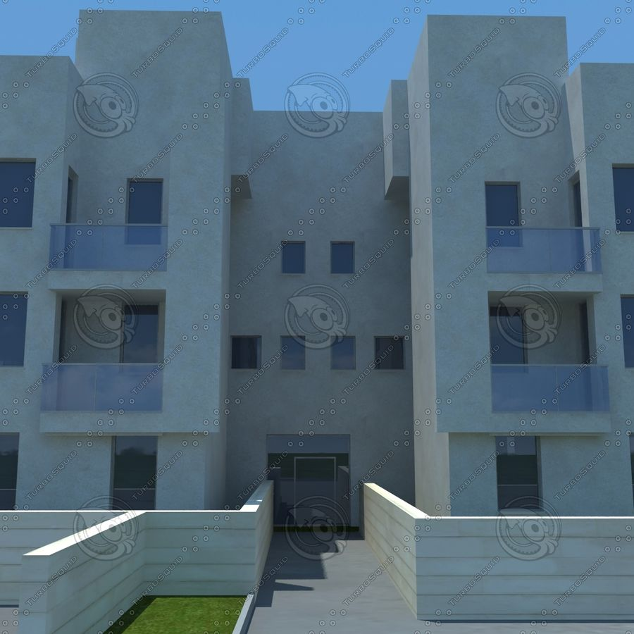 home(1) royalty-free 3d model - Preview no. 7