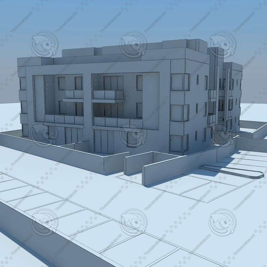 home(1) royalty-free 3d model - Preview no. 18