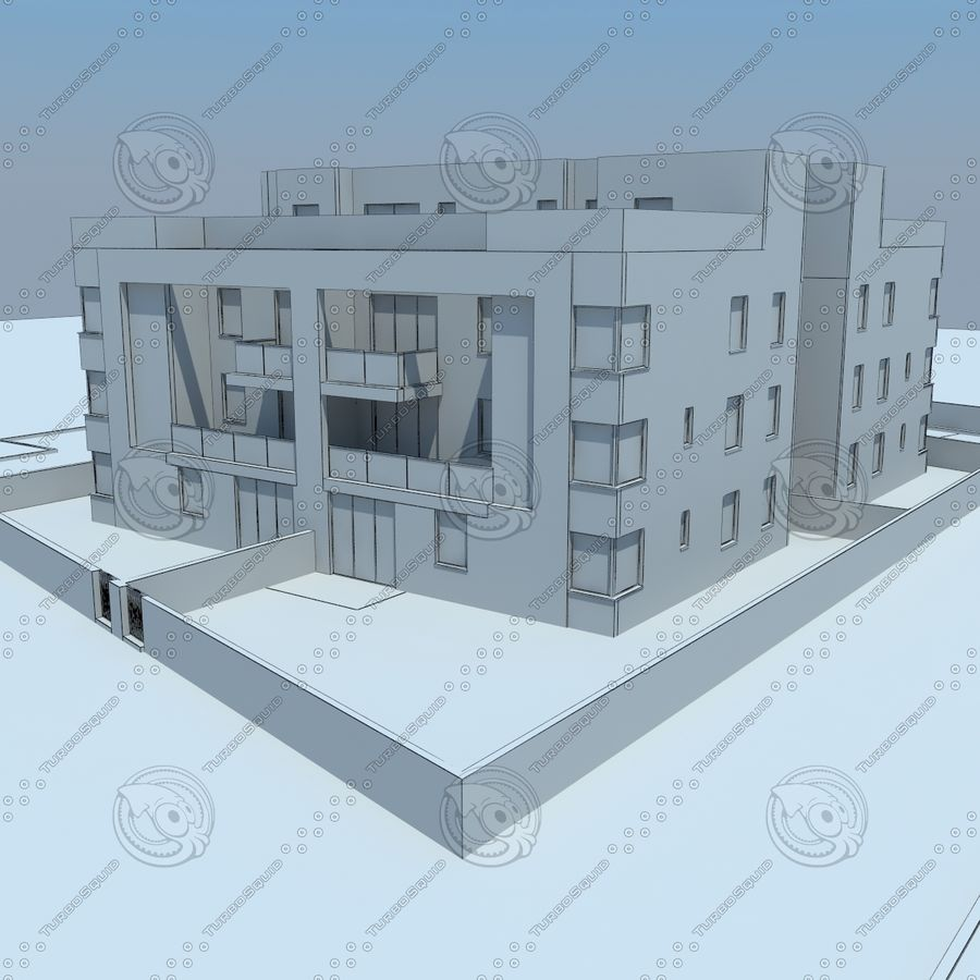 home(1) royalty-free 3d model - Preview no. 17