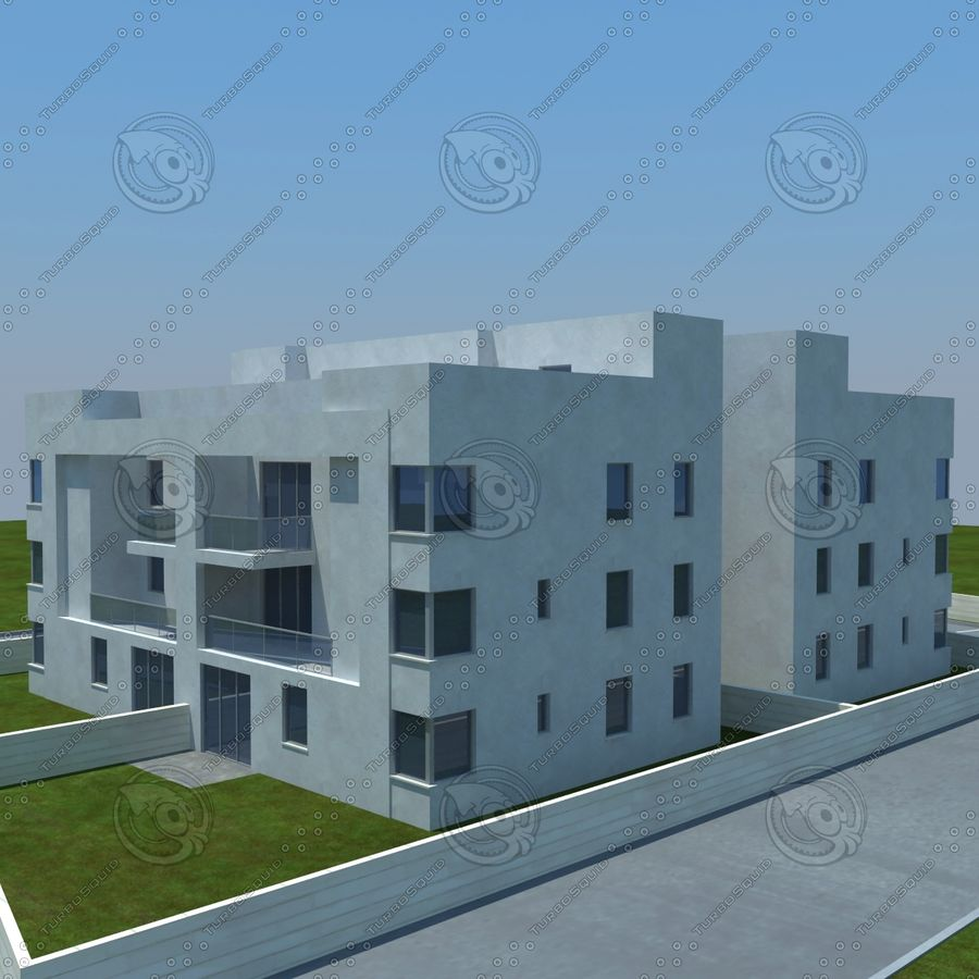 home(1) royalty-free 3d model - Preview no. 11
