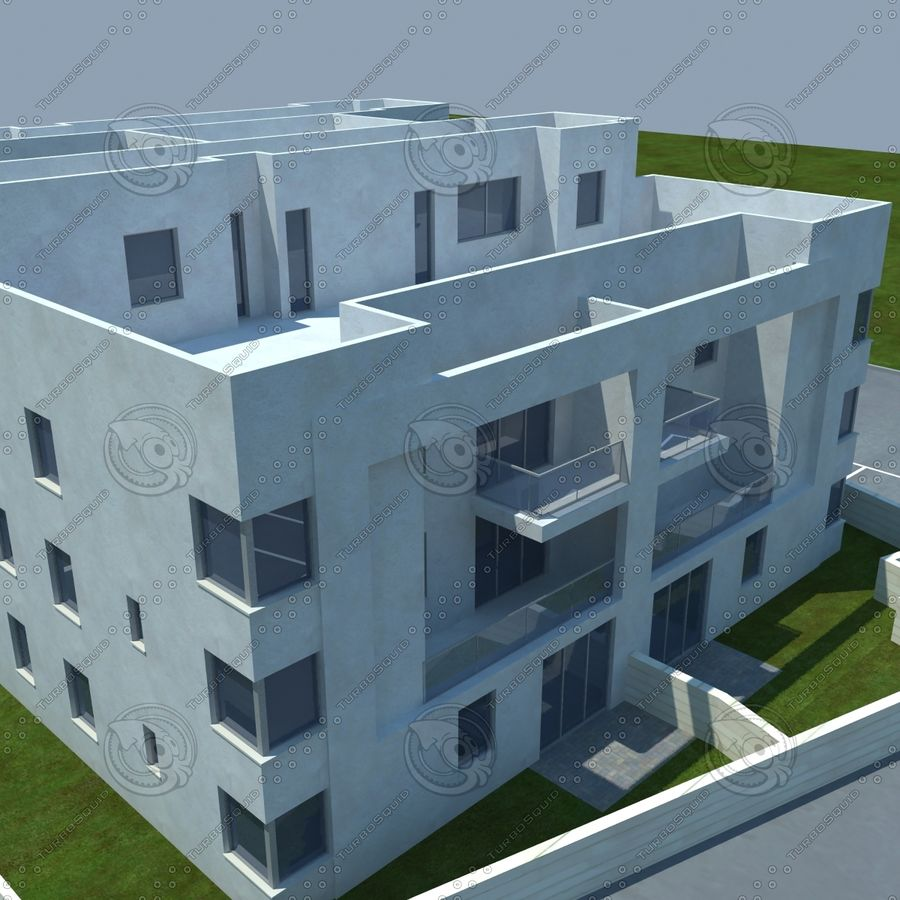 home(1) royalty-free 3d model - Preview no. 14