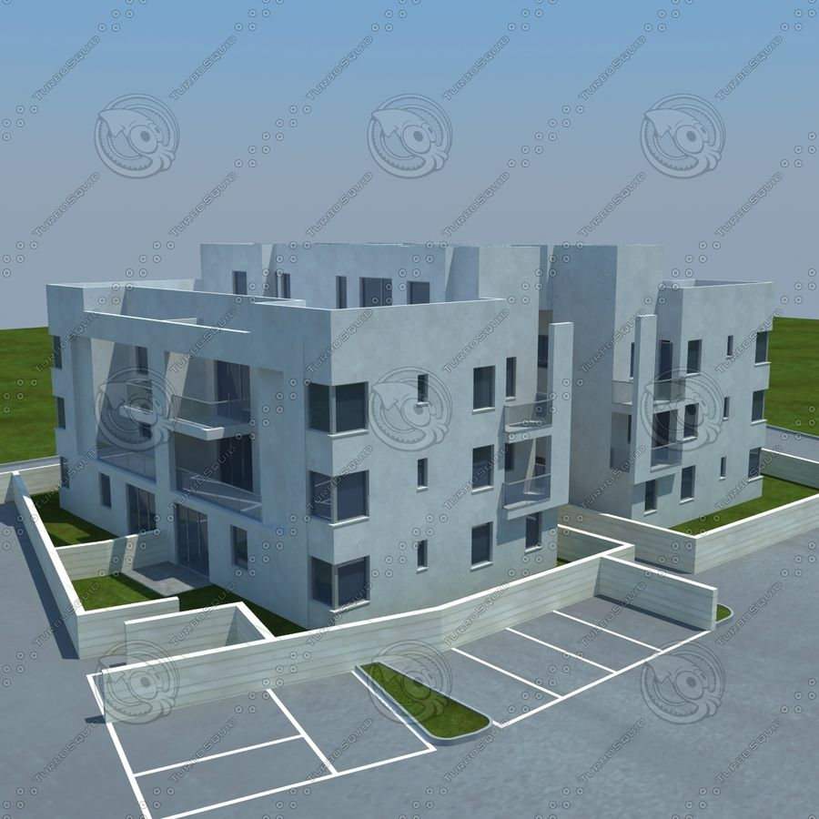 home(1) royalty-free 3d model - Preview no. 1