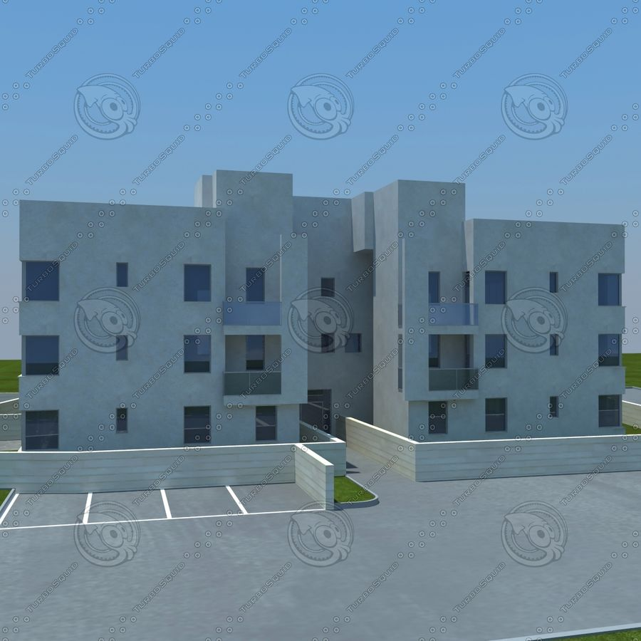 home(1) royalty-free 3d model - Preview no. 5