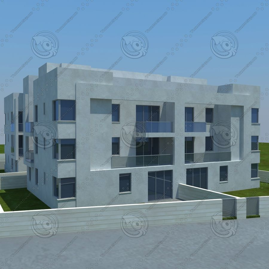 home(1) royalty-free 3d model - Preview no. 9