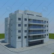 building(2) 3d model