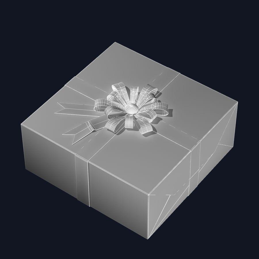 ギフト用の箱 royalty-free 3d model - Preview no. 7