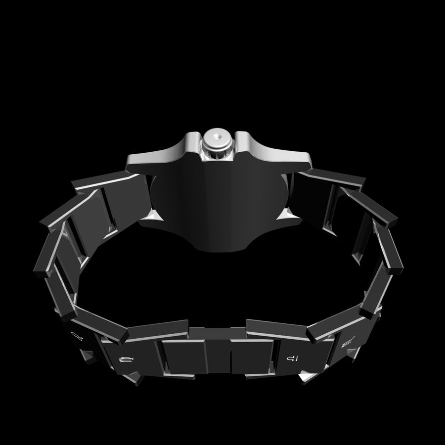 Clock royalty-free 3d model - Preview no. 7