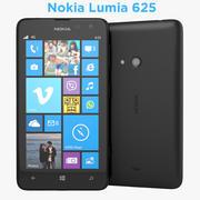 Nokia Lumia 625 Phablet Smartphone 3d model