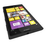 诺基亚Lumia 1020旗舰智能手机黑色 3d model